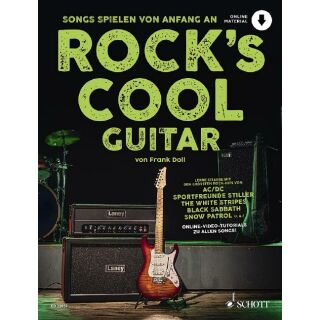 Rock´s cool Guitar neu